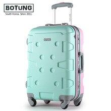 Aluminum frame stick box universal wheel luggage male 20-inch 24 inch hard case female tourist lockbox trunk JJ170074