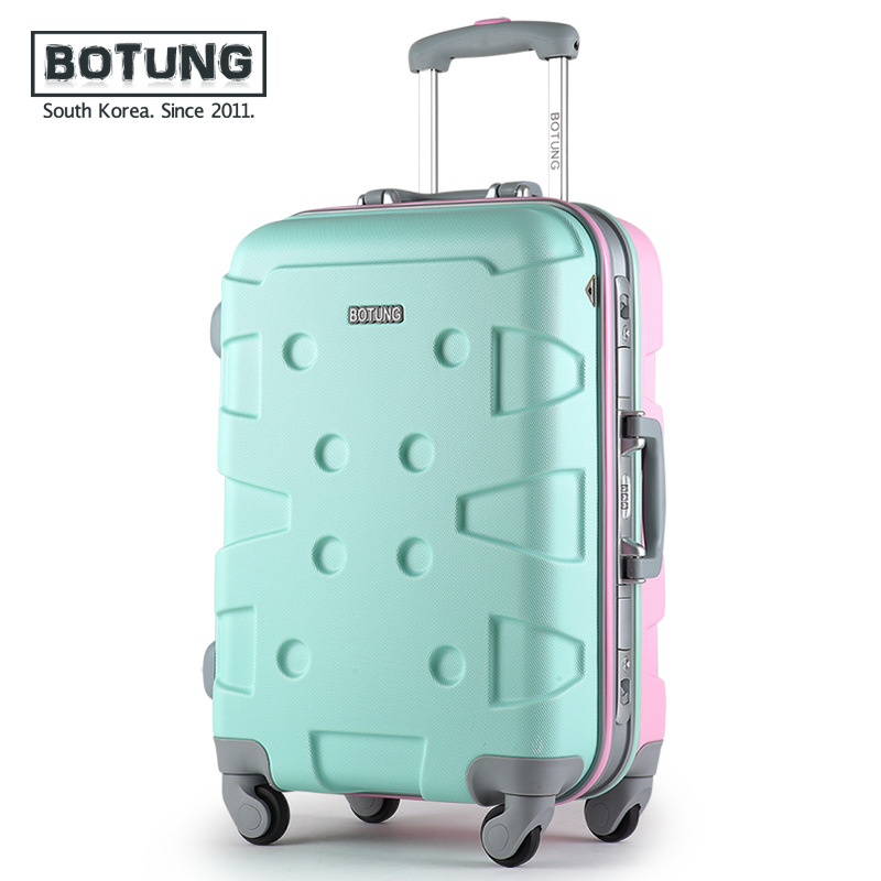Aluminum frame stick box universal wheel luggage male 20-inch 24 inch hard case female tourist lockbox trunk JJ170074 maped gom stick universal