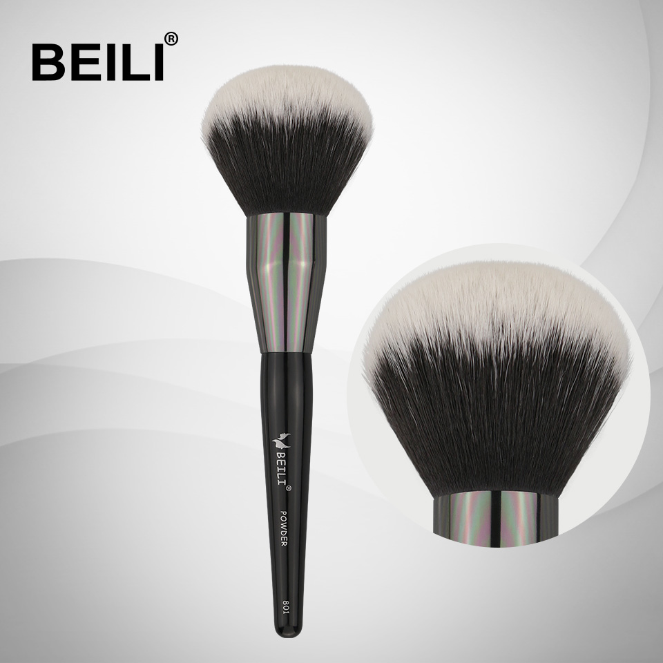 BEILI big Powder Makeup Brushes 801# 1 PIECE soft Synthetic Hair brush for makeup makeup brushes