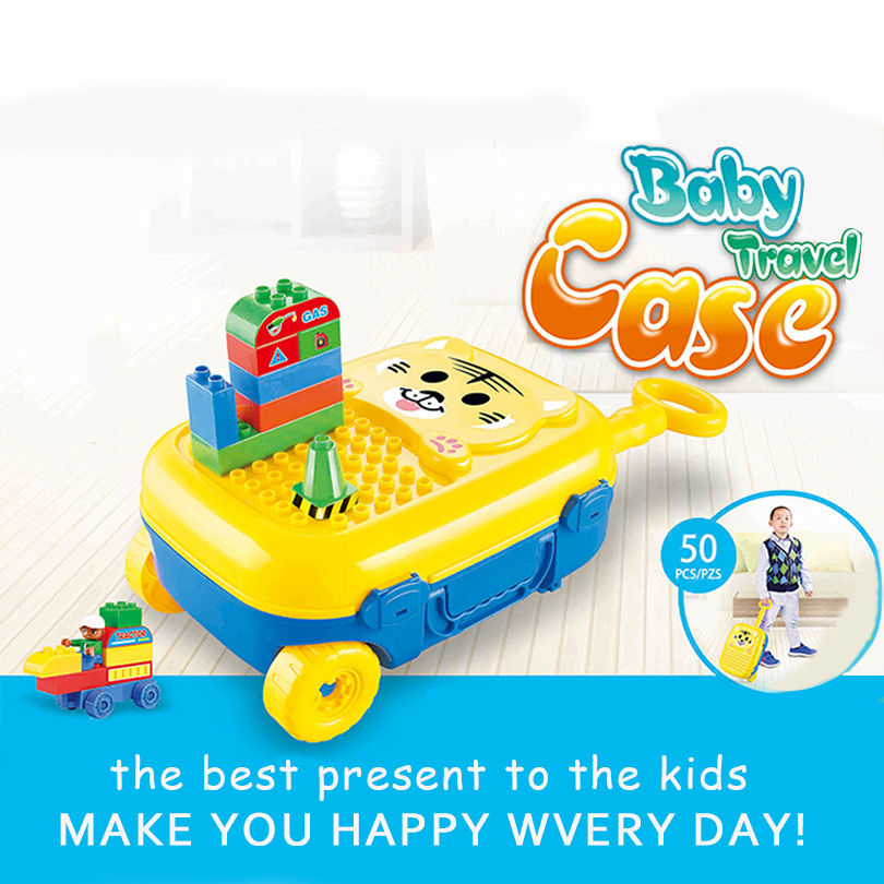 2017 New Building Blocks Self-locking Bricks Educational Toys Baby Toys Children Gift Baby Travel Case Car Styling toy brick 100pcd pack children snowflake match building blocks colorful self locking bricks 3 5cm big plastic blocks kids educational toys