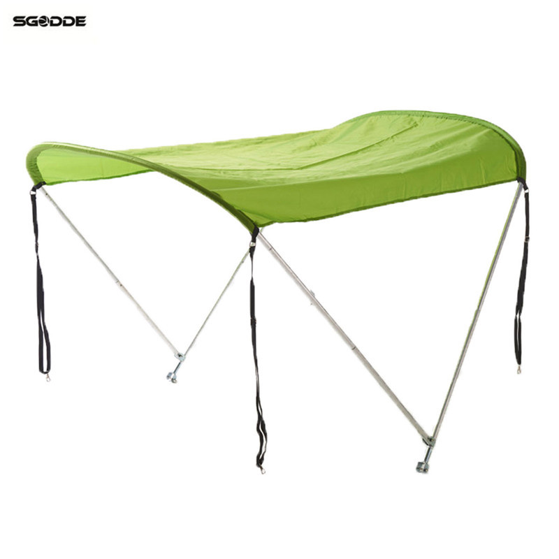 Rowing Boats Surfing Kayak Canoe Boat Top Kit Inflatables Boat Sun Shelter Sailboat Awning Top Cover Tent Sun Shade Rain Canopy ботинки мужские black awning boat 310