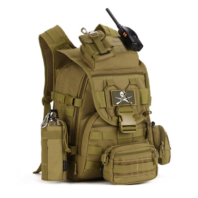 Hot Molle Tactical Backpack Military Backpack Nylon Waterproof Army Rucksack Outdoor Sports Camping Hiking Fishing Hunting Bag 5