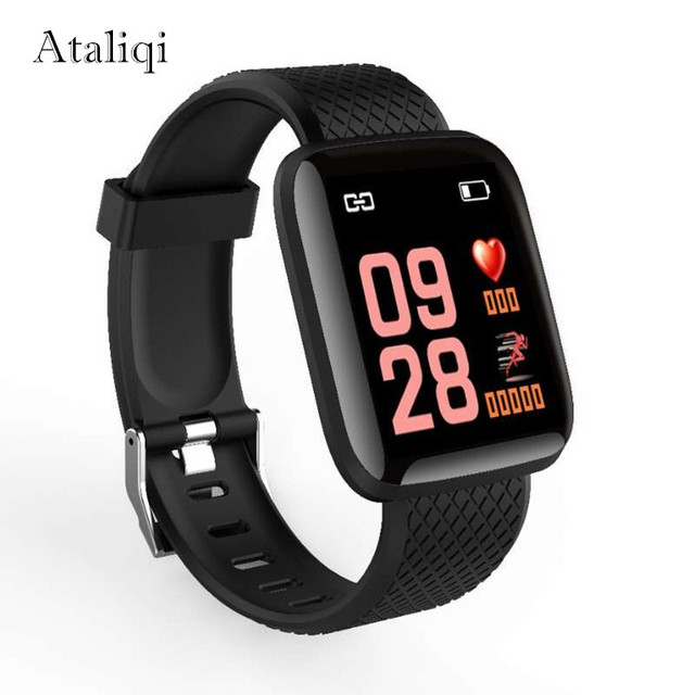 Smart watch Message Push Blood pressure Heart Rate Fitness Tracker Men Women Bracelet Bluetooth Sport SmartWatch For Android IOS