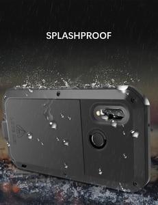 Image 4 - Gorilla glass film gift) LOVE MEI Metal Waterproof Case For Huawei P20 Lite 5.84 Shockproof Cover For huawei Nova 3E cover capa