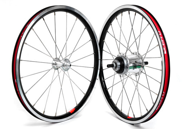 цена на Litepro 16inch Internal 5 Speed 349 Wheel Folding Bike Wheel Set BMX Wheelset BMX Parts