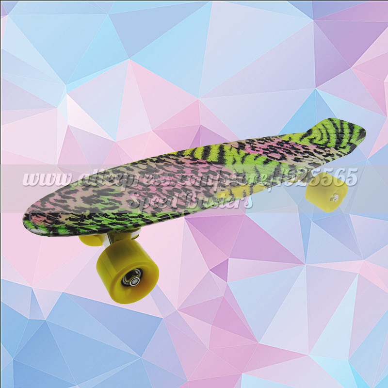 Planche à roulettes fille poisson planche à roulettes pastel freestyle planche à roulettes mini cruiser longue plastique planche à roulettes professionnelle pour enfants