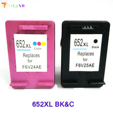 2PK For HP 652 XL Ink Cartridges DeskJet ink advantage 1115 2135 3635 1118 2138 3636 3638 printer