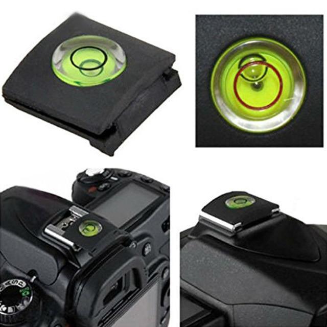 Woopower accesorios de la Cámara Zapata de Flash cubierta protectora tapa con nivel de burbuja para Nikon Canon Fuji 0 lympus