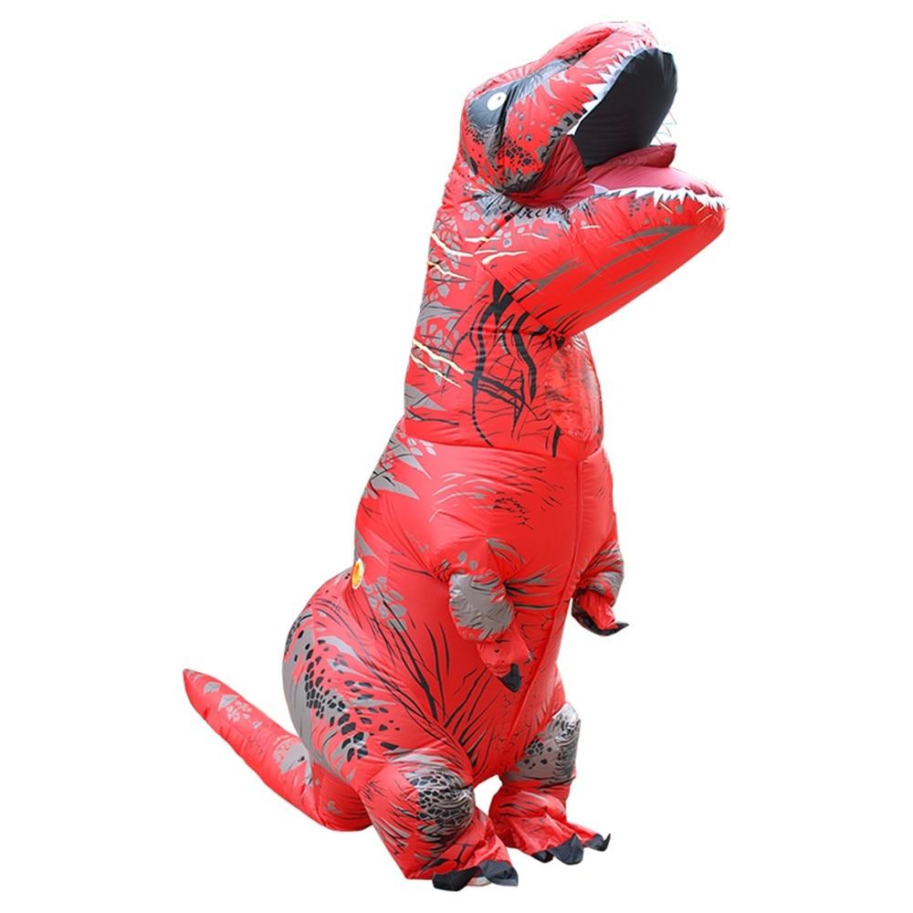 Inflable T-Rex dinosaurio  traje de fiesta juguetes al aire libre juego educativos niños 23
