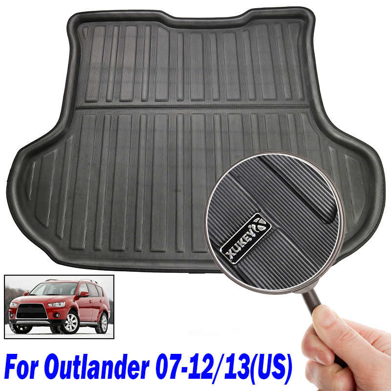Suitable for Heavy Cleaning /& Jet Washing Connected Essentials Tailored Custom Fit Heavy Duty Rubber Boot Mat Boot Liner for Mitsubi Outlander 2007-Onwards Untrimmed MK 2
