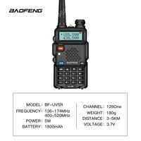 baofeng uv 5r uv Baofeng UV-5R מכשיר הקשר מקצועי CB רדיו 5W UV הלהקה כפול שני רדיו דרך מכשיר הקשר במוסקבה ציד Ham Radio (2)