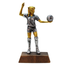 Creative Volleyball Players Statue Figurines Resin Craft Office Decorative Sculpture Classic Model Home Decorations
