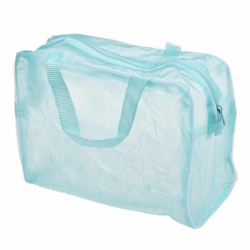 메이크업 가방 화장품 케이스 메이크업 가방 세면 용품 여행 워시 칫솔 파우치 주최자 핸드백 선물 걸스 0.6