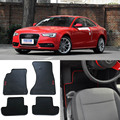 Ipoboo High Quality Full Set All Weather Heavy Duty Black Rubber Floor Mats For Audi A5