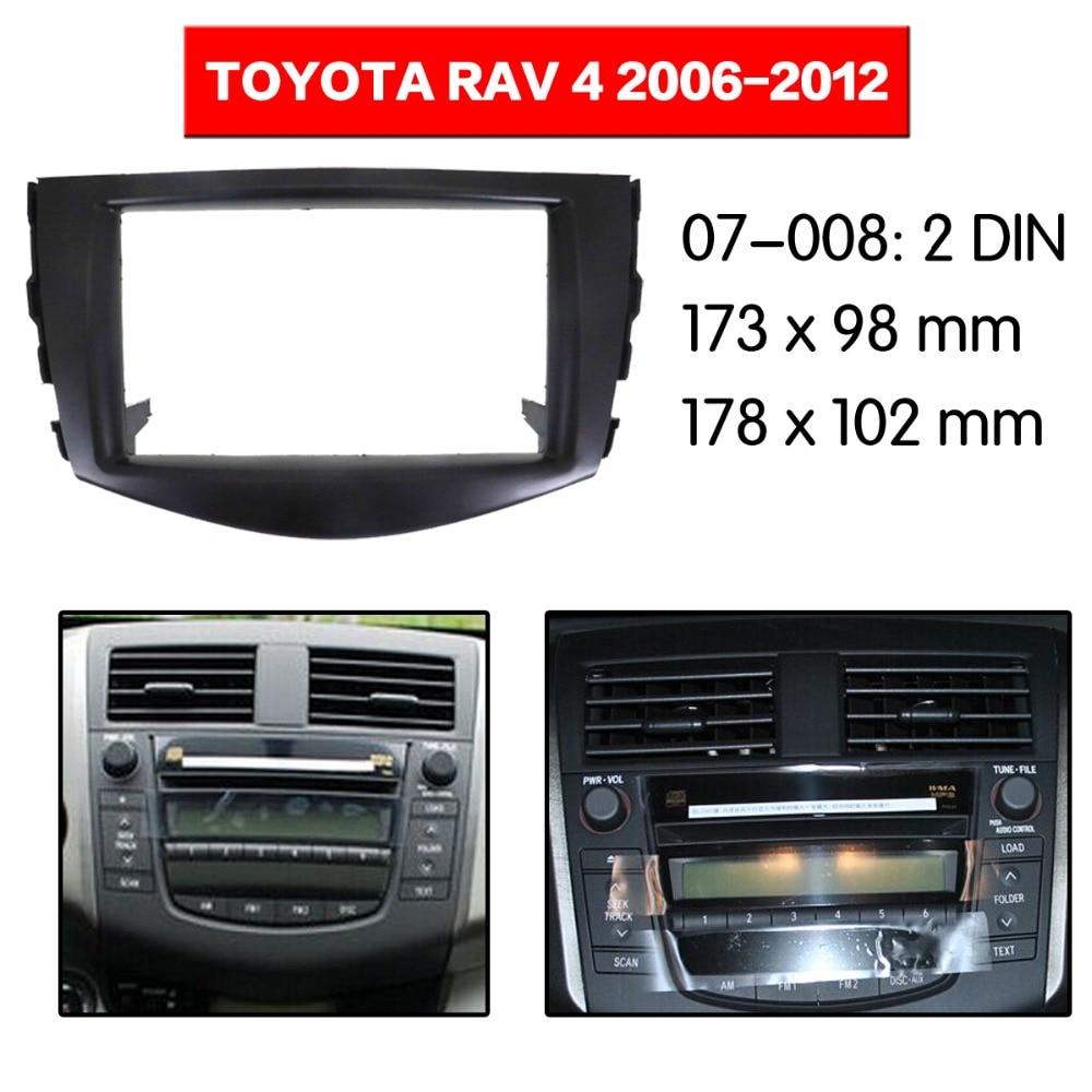Buy Toyota Rav4 Radio Trim And Get Free Shipping On Dash Kit Fascia Panel Wiring Car Stereo Fitting