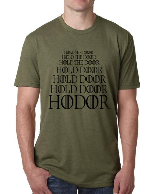 Hold the Door T-Shirt for Men