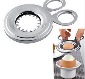 30pcs 105mm Slicer Boiled Cooked Egg Topper Snipper Eggshell Shell Opener Kitchen Household Tool Cutter scissor Clipper