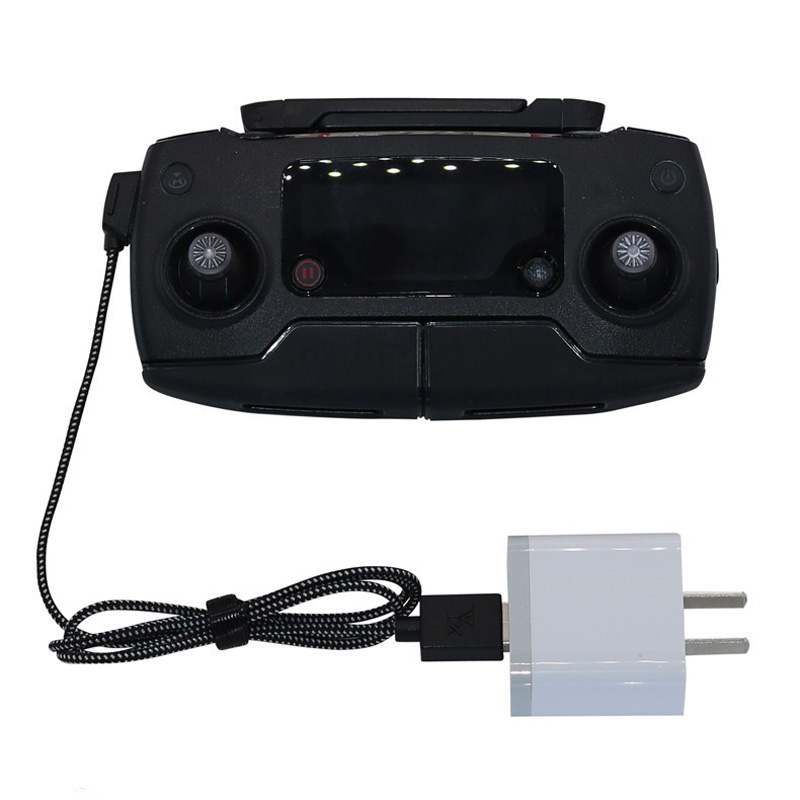 80cm Remote Control Battery Charging Cable USB Line For DJI Mavic Mini / Pro 1 Air / Mavic 2 Pro&zoom Spark Drone Transmitter