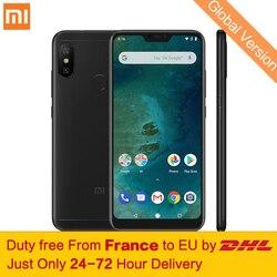 Tax Free! Глобальная версия Xiaomi Mi A2 Lite 4 ГБ 64 ГБ мобильный телефон 5,84