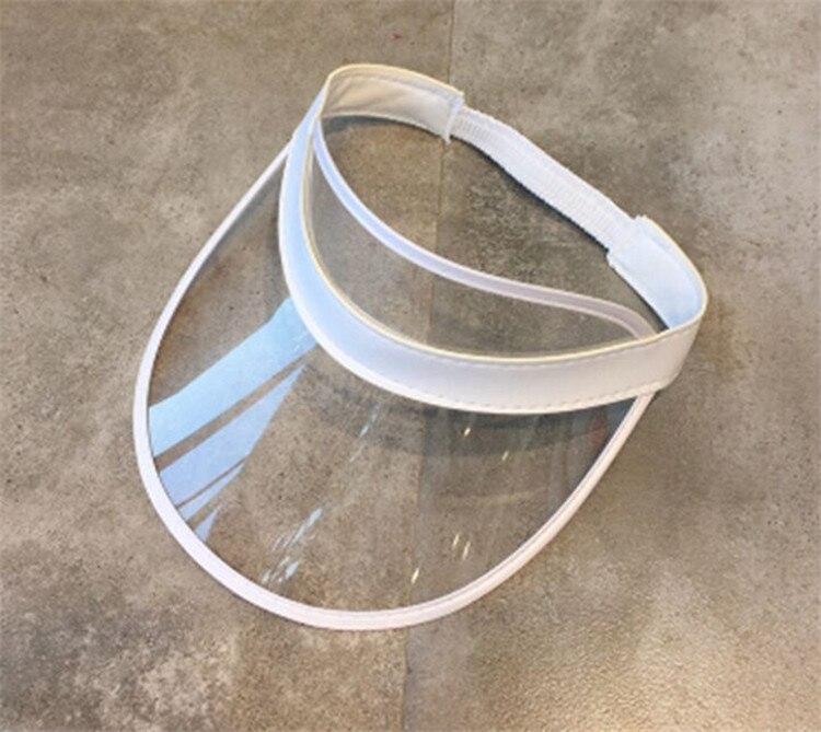 PVC Transparente Plástico Chapéus Multicolor Chapéu de