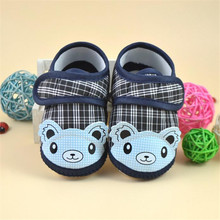 LONSANT First Walkers Cute Animal Newborn Girl Boy Soft Sole Crib Toddler Shoes Canvas Sneaker for 0-12M M22 wholesale(China)