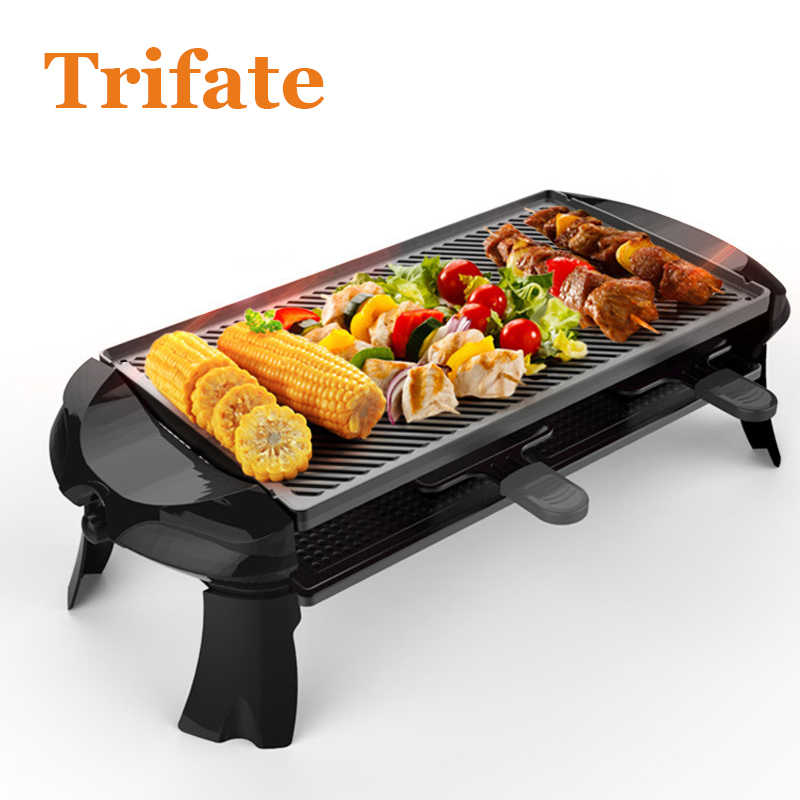 plate Takoyaki Electric Hot Pot,Heated Electric Multifunction Compact Covered Pot Ceramic Plate Grill,Pink Household Multi-Function Barbecue Frying Pan