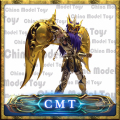 Great Toys GT Ex Scorpio Milo Soul of Gold God Saint Seiya Metal Armor Myth Cloth Gold Action Figure