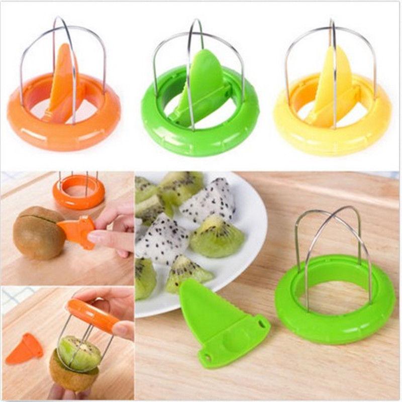 Mini Fruit Cutter Peeler Slicer Kitchen Gadgets Tools For Pitaya Green Kiwi New