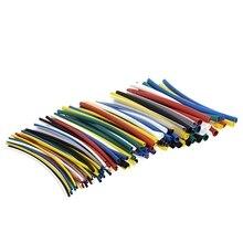 140 шт автомобильные трубки тепловые трубки для электрического кабеля обертывание полиолефиновые рукава изоляционные материалы элементы