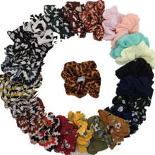 6 шт/лот жемчужные женские модные роскошные мягкие бархатные резинки для волос, аксессуары для волос, держатель