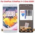 Белый Для OnePlus X OnePlus 1 + X One E1001 ЖК-Дисплей С Сенсорным Экраном Дигитайзер Полный Ассамблея Замена Аксессуар Бесплатная Доставка