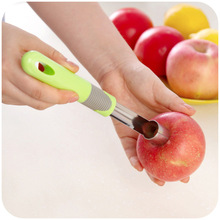 vanzlife stainless steel apple core fruit clear device controller core splitter corers kitchen artifact fruit tool