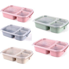 Newest Microwave Bento Lunch Box Picnic SuShi Fruit Food Container Storage Box(China)