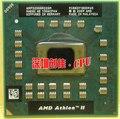 Оригинал AMD Athlon Ноутбук ПРОЦЕССОРА Athlon II Dual-Core AMP320SGR22GM P320 2.1 ГГц 1 М 25 Вт P340 P560 P540 P860