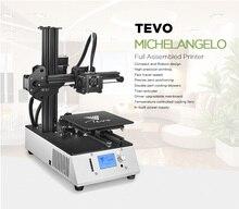 TEVO Michelangelo Fully Assembled 3D Printer Kit Full Aluminum Frame with Titan Extruder Stable Mini 3D Printer Homeuse 3D