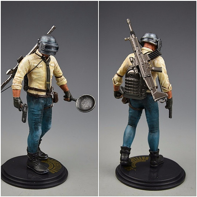 Player Unknowns Battle Grounds PUBG Model Doll Figurine Action Figure