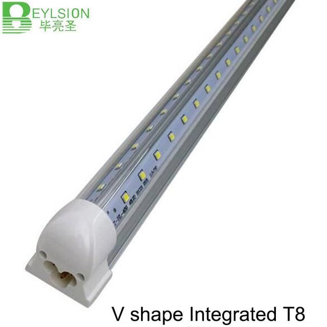 30X 18W 24W 36W 48W Intergrated V Shaped Led Light Tube T8 Led Tube ...