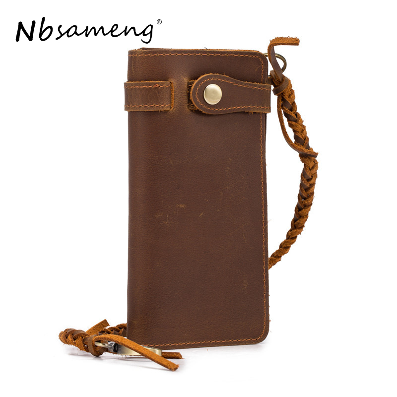 NBSAMENG Vintage Genuine Leather Men Wallets RFID Protected Card Holders Purse Casual Bifold Male Clutch Wallet Long Wallet new arrival 2017 wallet long vintage man wallets soft leather purse clutch designer card holders business handbags clips