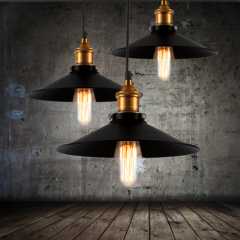 Nordic style vintage pendant light american-style bar lamp home lighting Loft Style Edison Industrial Drop light Pendant Lamp майка борцовка print bar killer