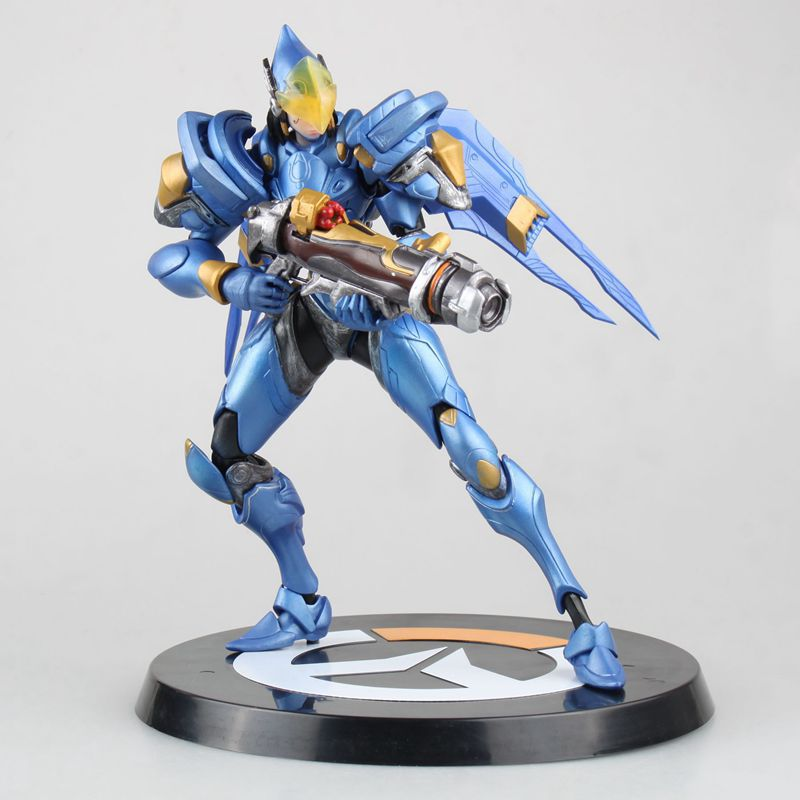 SAINTGI OW Pharah Action Figure PVC 24CM game figure Model kids Toys Gifts Collection brand new animals action figure toys mother wild horse 12cm length pvc figure model toy for gift collection kids school study