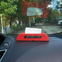 Caixa Guardanapo Caixa Tecido carro Titular Auto Telefone Função Número de Estilo Capa de Tecido Recipiente