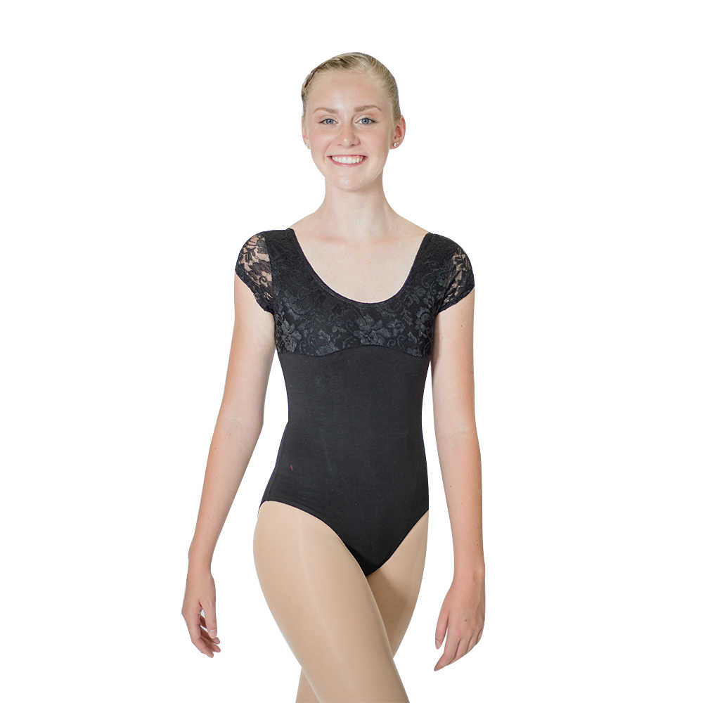 aa3504e4b137 Detail Feedback Questions about Wholesale Royal Blue Black Cotton Lycra  Lace Cap Sleeve Dancing Leotard Girls Ballet Dancewear Ladies Bodysuit on  ...