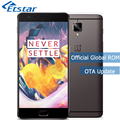 Original OnePlus 3T A3010 5.5'' FHD Mobile Phone Snapdragon 821 Quad Core 6GB RAM 64GB ROM 16.0MP Camera Android NFC 3400mAh