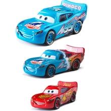 Disney Pixar Cars Lightning McQueen dinosaurio petróleo gradiente Jackson Storm Ramírez 1:55 juguete de aleación de Metal fundido para niños