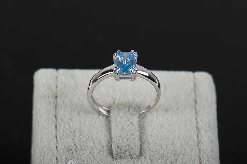 2016 New Arrival điều chỉnh nhẫn Thời Trang 925 sterling silver ring chất lượng cao tự nhiên nhẫn Zircon cho phụ nữ với món quà miễn phí hộp