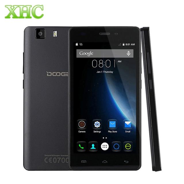 Original 3G DOOGEE X5 5.0''Android Smartphone MT6580 Quad Core 1.3GHz 1GB+8GB 1280X720 2400mAh Battery Dual SIM Mobile Phone