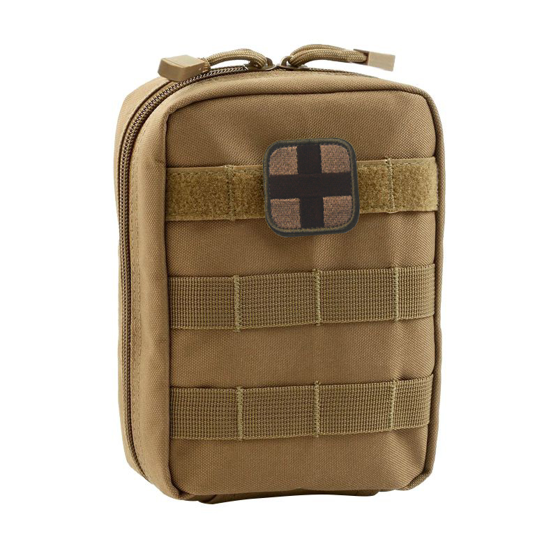 Military Zipper Pack Accessory Durable Belt Pouch Tactical Waist Bag Multifunctional EDC Molle Pouch