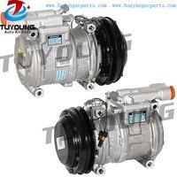 10PA17C vehicle ac compressor for JOHN DEERE 1710D 6600 7450 9976 RE52454 RE55422 SE501468 TY6784 4 Seasons 67351 68351
