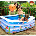 Baby Pool / 2016 New Cartoon Square Inflatable Baby Home Insulation Infants And Young Children 'S Wading Pool/ Swimming Pool