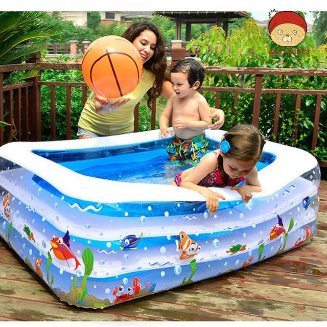 Bebé Piscina/2016 Nueva Plaza de Dibujos Animados Inflable Bebé Piscina infantil Aislamiento de las Casas DE Los Lactantes Y Los Niños Pequeños/Natación piscina